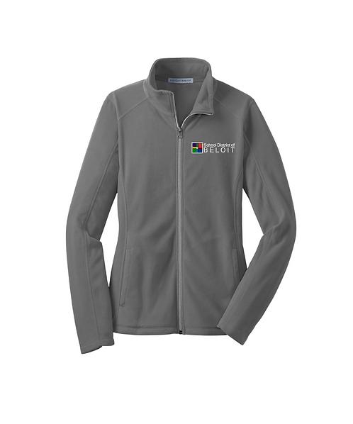 School District of Beloit Embroidered Ladies Microfleece Full Zip Jacket