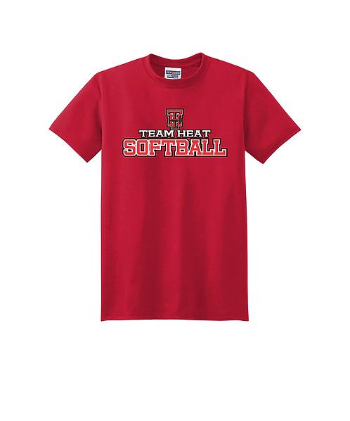 Team Heat Softball Sport Polyester T-Shirt
