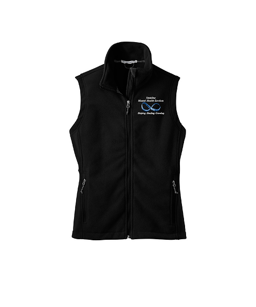 Stateline Mental Health Embroidered Fleece Vest