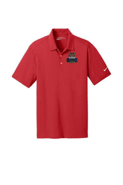 Embroidered Merrill Staff Nike Dri-FIT Vertical Mesh Polo