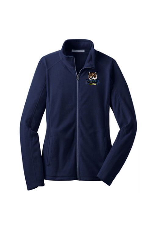 Embroidered Merrill Staff Ladies Microfleece Jacket