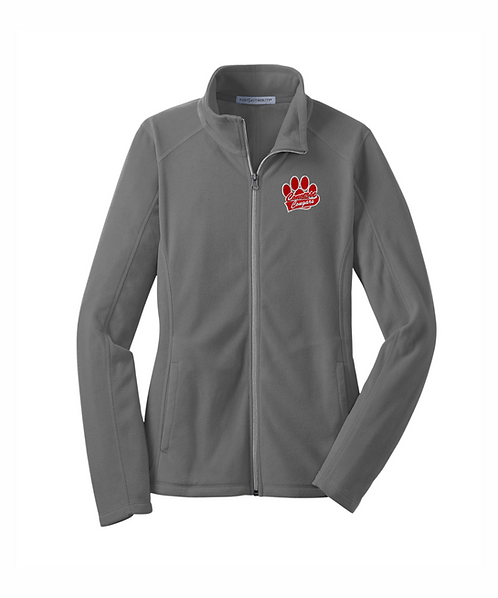 Converse Cougars Embroidered Ladies Microfleece Jacket