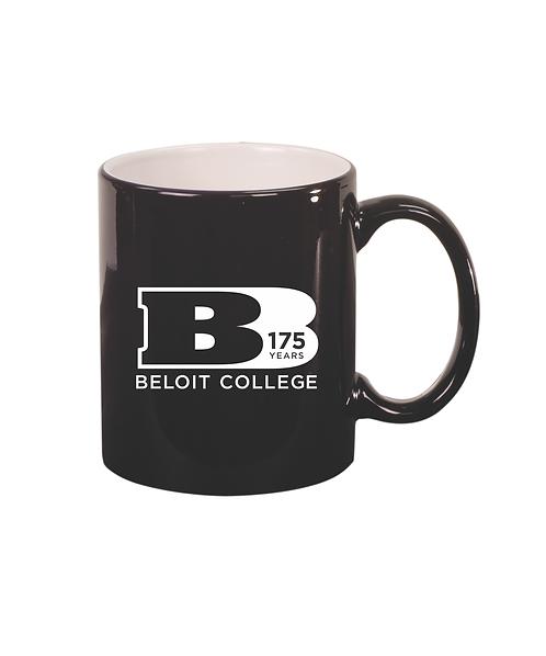 175th Anniversary 11 oz. Black Ceramic Round Mug