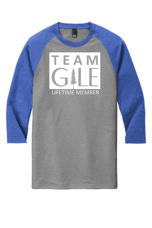 TEAM GILE- District ® Perfect Tri ® 3/4-Sleeve Raglan
