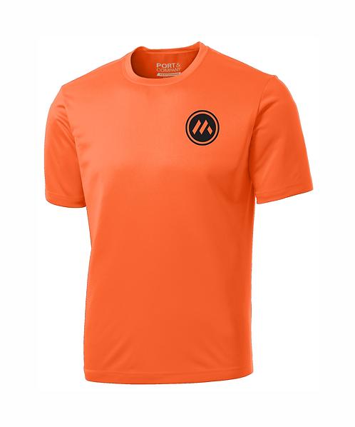 Mid-States Dri-Fit Performance T-Shirt w/ Front Pocket & Full Back Logo