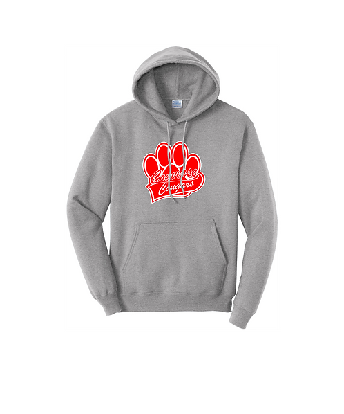 Converse Cougars Paw Print Graphic Unisex Pullover Sweatshirt