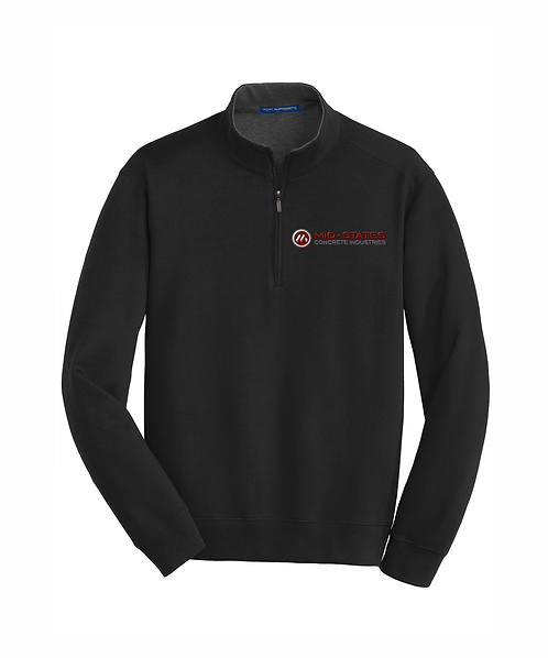 Mid-States Embroidered Interlock 1/4-Zip