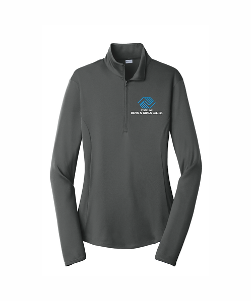 Embroidered Ladies Stateline Boys & Girls Clubs 1/4-Zip Pullover