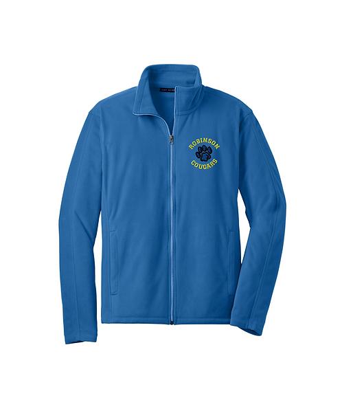 Robinson Staff Embroidered Men's Microfleece Jacket