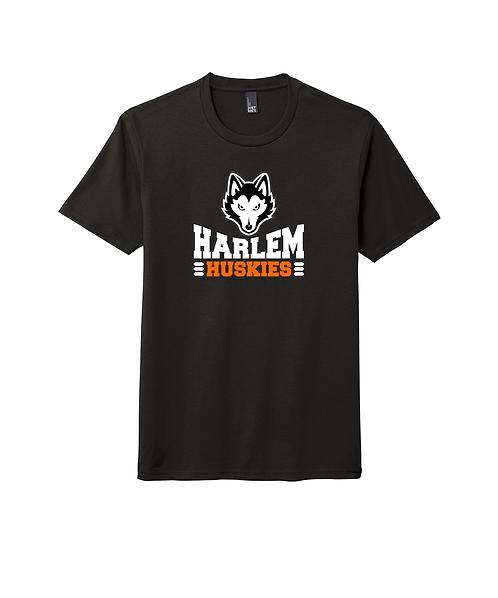 Harlem Huskies DTG Black Perfect Tri Tee *Multiple Designs