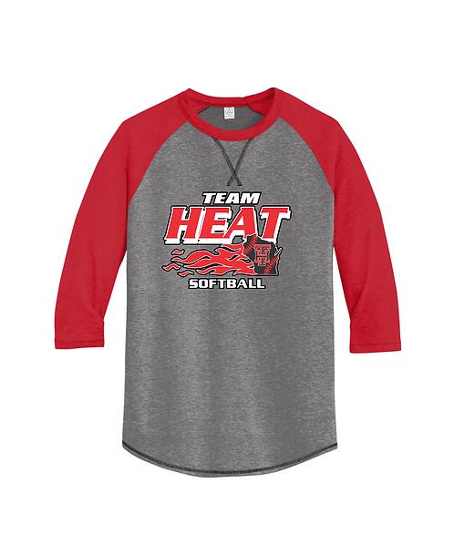 Team Heat Softball 3/4-Sleeve Tee