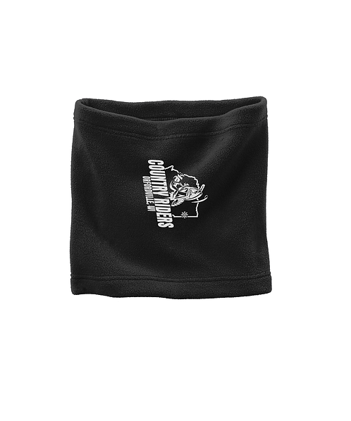 Country Riders Embroidered Port Authority® Fleece Neck Gaiter