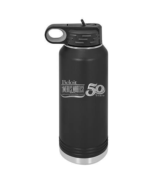 Beloit Meals on Wheels 32oz. Water Bottle