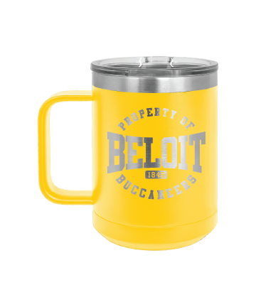 Beloit College 15 oz. Vacuum Insulated Mug with Slide