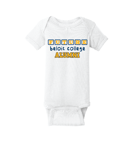 Future Beloit College Alumni Infant Short Sleeve Baby Rib Onesie