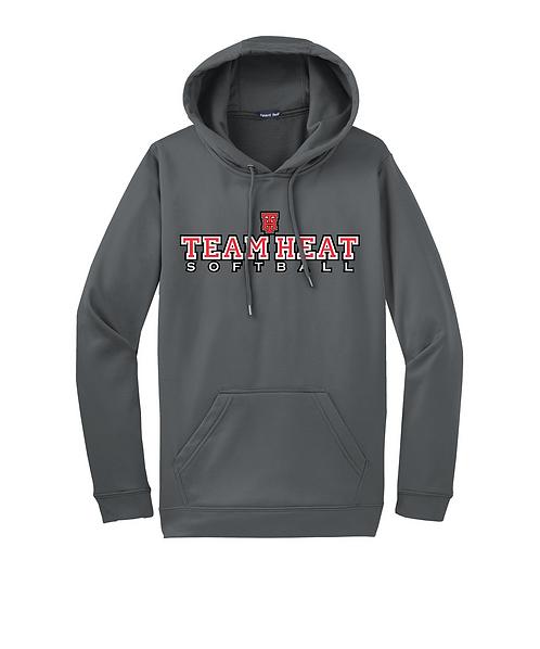 Team Heat Sport-Wick Fleece Hooded Pullover