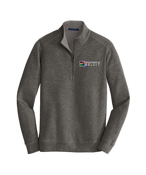 School District of Beloit Embroidered Interlock 1/4-Zip