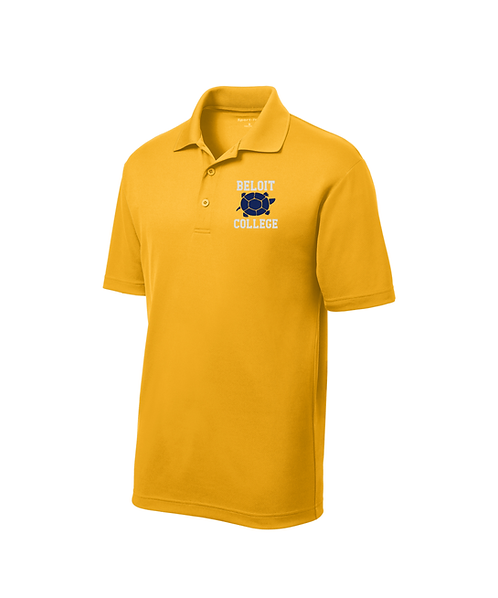 Beloit College & Turtle Graphic Embroidered on Sport-Tek® RacerMesh® Polo