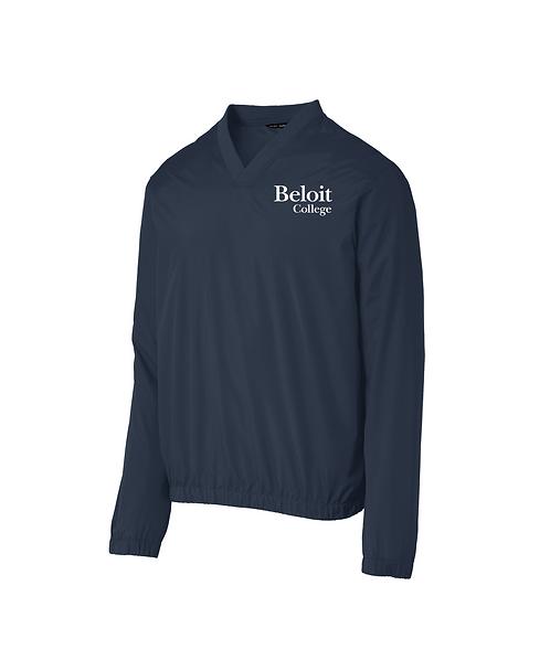 Beloit College Embroidered Port Authority Zephyr V-Neck Pullover
