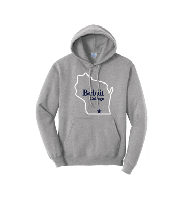 Beloit College Port & Company® Sweatshirt w/ BC in WI
