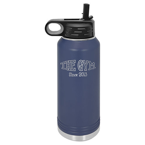 The Gym- 32 oz.  Water Bottle