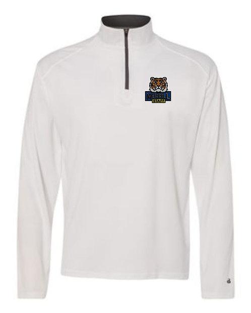 Embroidered Merrill Staff B-Core Quarter-Zip Pullover