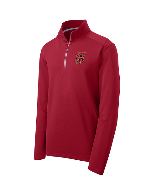 Embroidered Team Heat 1/4-Zip Pullover