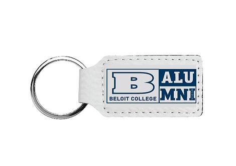Beloit College Alumni Rectangle Keychain
