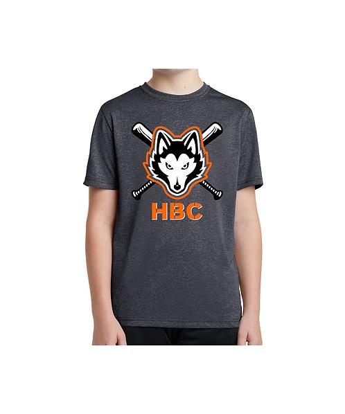 Harlem Huskies YOUTH Graphite Heather 2021 Team Shirt