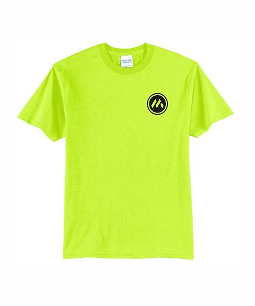 Mid-States Core Blend Short Sleeve Tee w/ Front Pocket & Full Back Logo