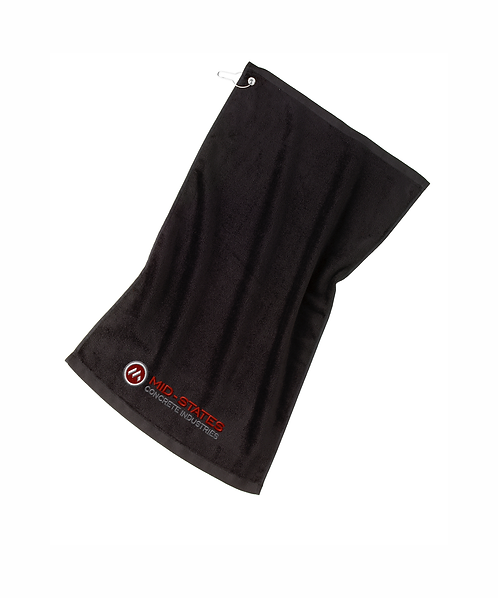 Mid-States Embroidered Grommeted Golf Towel