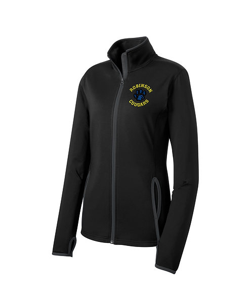 Robinson Staff Embroidered Ladies Sport-Wick Full-Zip Jacket