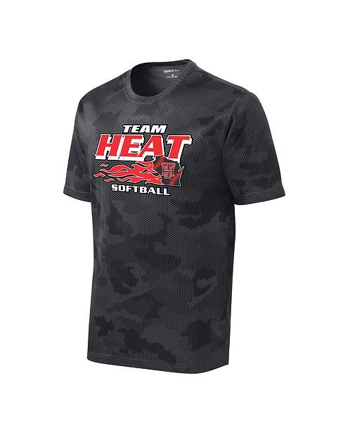 Team Heat Softball CamoHex Tee