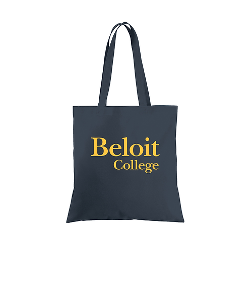 Beloit College Navy Port Authority Document Tote