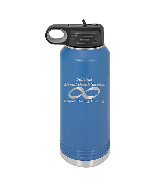 Stateline Mental Health 32oz. Water Bottle