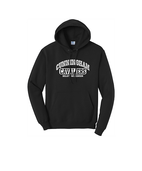 Youth Cunningham Arched Graphic Unisex Pullover Sweatshirt