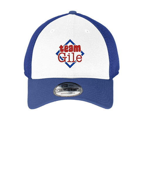 TEAM GILE- Embroidered- New Era® - Snapback Contrast Front Mesh Cap