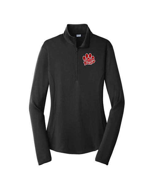 Converse Cougars Embroidered Ladies PosiCharge® Competitor™ 1/4-Zip Pullover