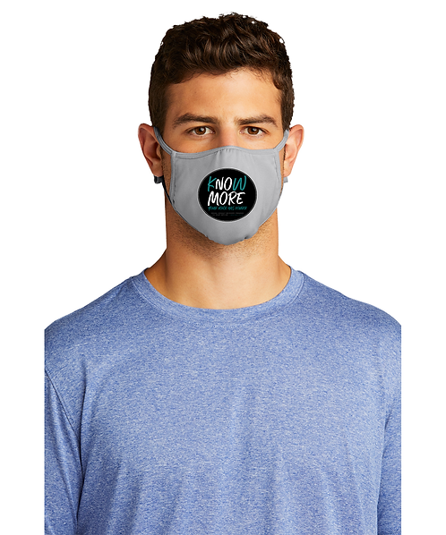 S.A.R.P Silver Sport-Tek PosiCharge Competitor Face Mask