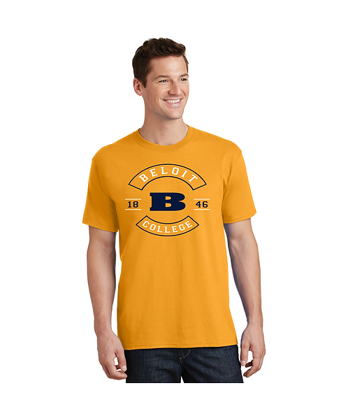 """College Store """"Beloit College 1846 w/ B in Middle"""" Tee"""