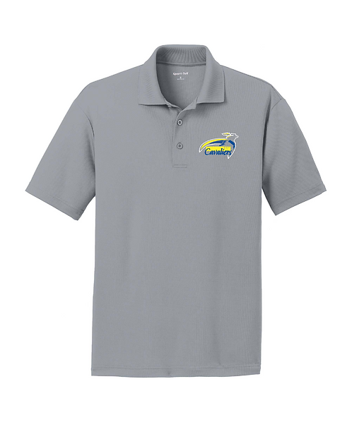 Cunningham Cavaliers Embroidered Men's RacerMesh Polo