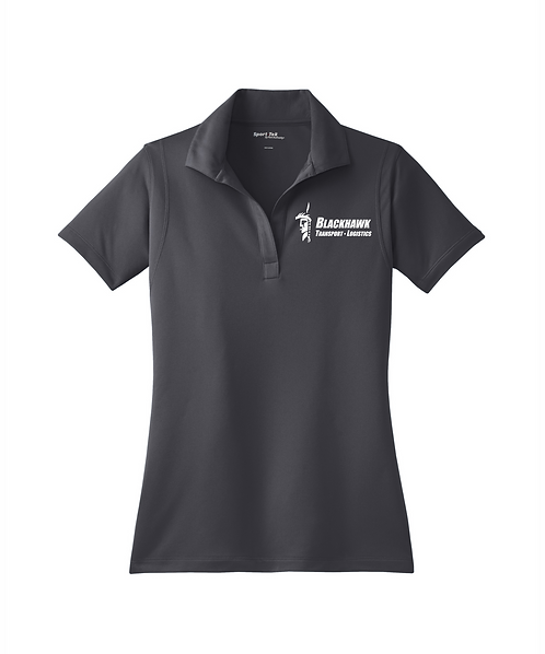 Blackhawk Transport Embroidered Ladies Micropique Sport-Wick Polo