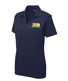 175th Anniversary Embroidered True Navy Ladies Sport-Tek® Racer Mesh Polo