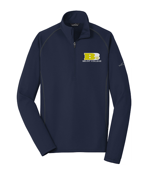 175th Anniversary River Blue Navy Eddie Bauer® Smooth Fleece Base Layer Full-Zip