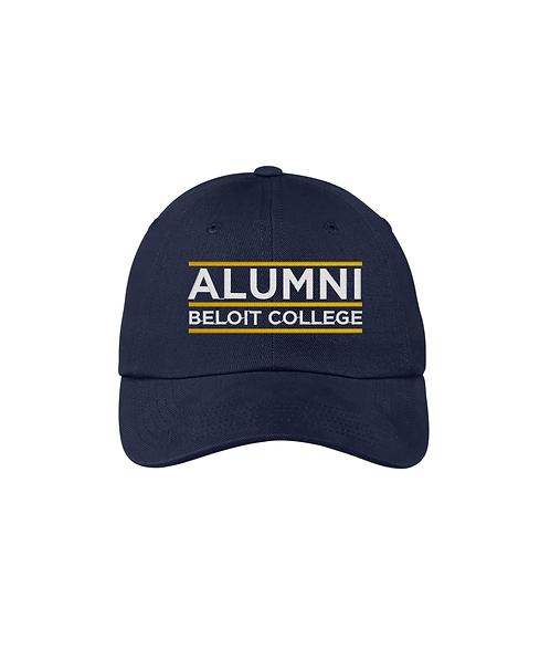 Beloit College Embroidered Beloit Alumni Port Authority® Brushed Twill Cap