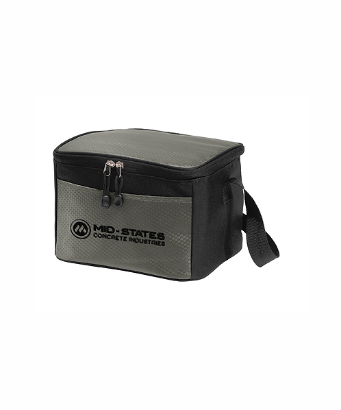 Mid-States Embroidered Six Can Cube Cooler
