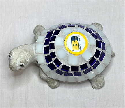 Beloit College Ceramic Mosaic Turtle