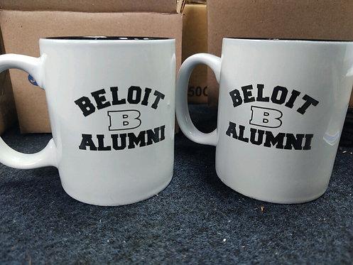 College Store 11 oz. White/Black Ceramic Round Mug