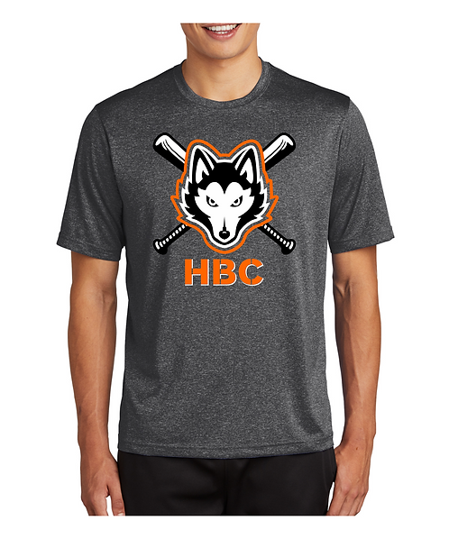 Harlem Huskies ADULT Graphite Heather 2021 Team Shirt
