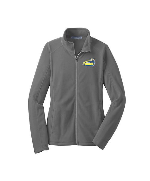 Cunningham Cavaliers Embroidered Ladies Microfleece Jacket